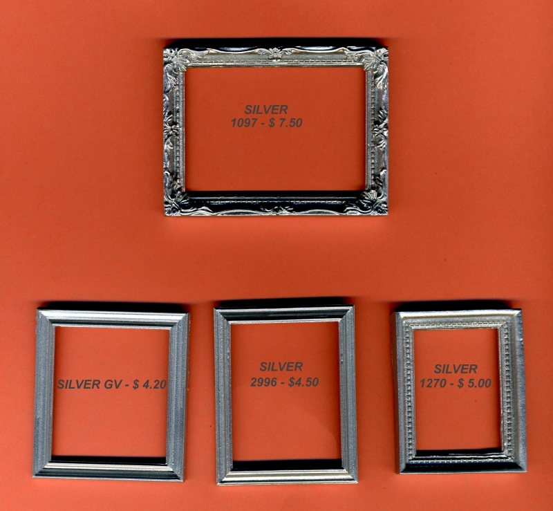 Goliath Miniatures Miniature Photographs and Frames